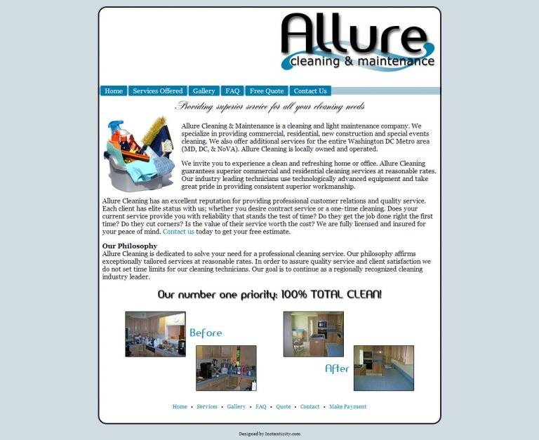 Allure Cleaning