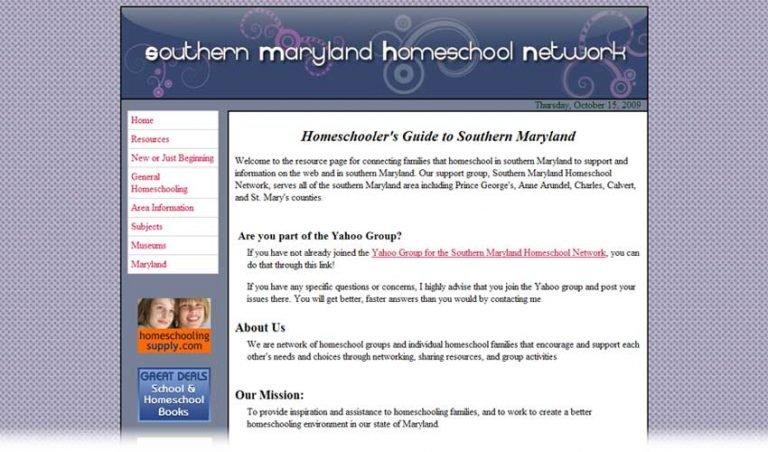 Southern Maryland Homeschool Network