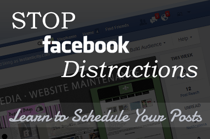 Schedule Your Facebook Posts to Save Time