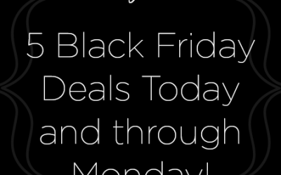 Friday Five: Black Friday Deals