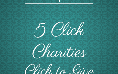 Friday Five: Click Charities