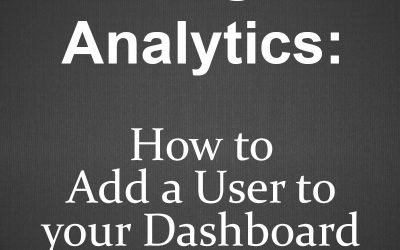 Google Analytics: How to Add a User