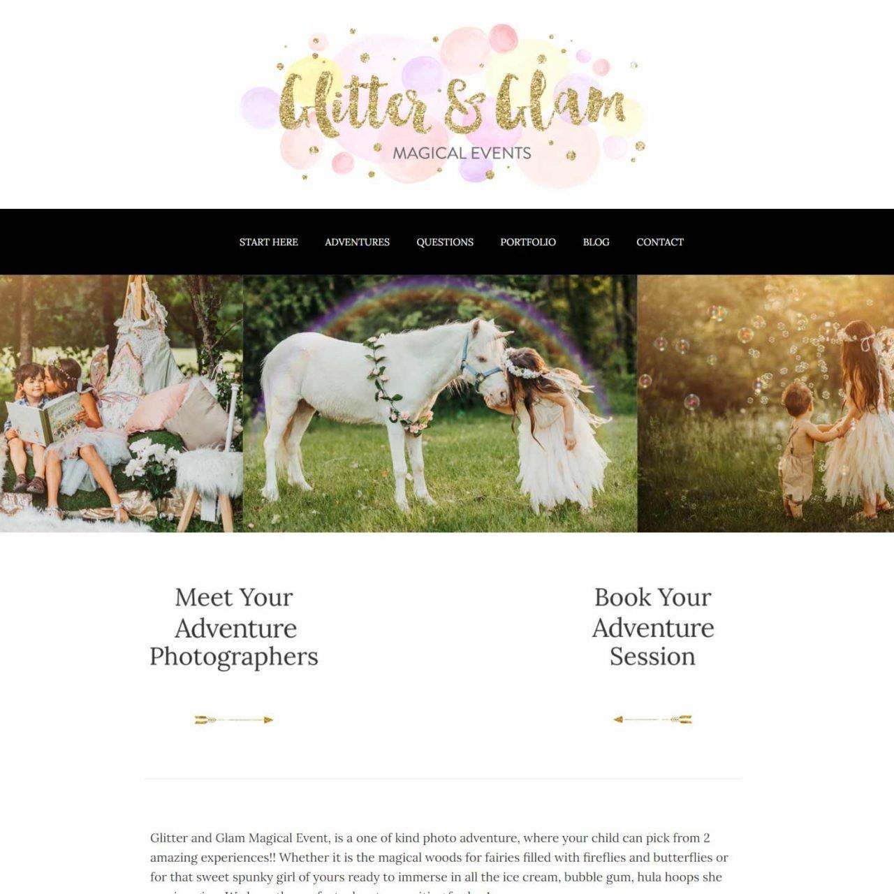 Glitter & Glam Fairy